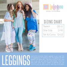 Lularoe Kids Size Chart Sizing Closer To The Heart Creations