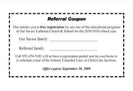 Referral Coupon Template Delectable Free Coupon Template Publisher Referral Coupons Modclothingco