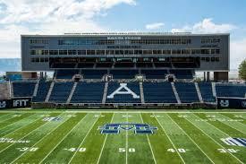Utah State Football Renovated Maverik Stadium Pushes Aggies