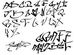 graffiti alphabet png images pngwing