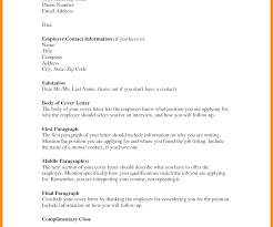 Cover Letter Formt For Job Application Experienced Sample Word