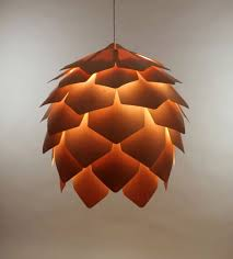 chic hanging lighting ideas lamp. Crimean Pinecone Lamp Is A Wooden Pendant Light Designed By Russian Designer Pavel Eekra. In Designer\u0027s Words, \u201cCrimean Consists Of 56 Plates Chic Hanging Lighting Ideas C