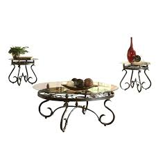 steve silver end tables silver company 3 piece coffee table set in dark brown inside idea