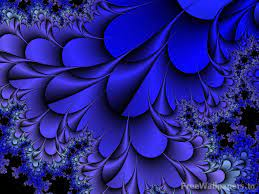 Blue colour wallpaper ...