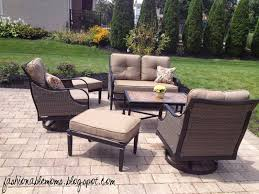 Exterior Black Wrought Iron Patio Furniture With Lazy Boy Outdoor