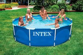intex 10 x 30 metal frame swimming pool intex metal frame pool intex 12
