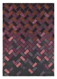 ted baker carpet agave deep purple 57105