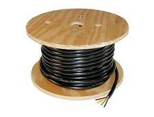 trailer wiring harness trailer light cable wiring harness 14 gauge 4 wire jacketed black flexible 100