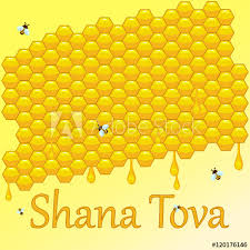 rosh hashanah greeting card rosh hashanah greeting card with honeycomb shana tova or jewish new