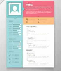 Free Resume Design Templates Unique Cv Design Templates Vector Unique Vector Minimalist Cv Resume