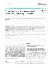 Pancreatic Practical The Myths pdf Exocrine To – Guide Insufficiency Breaking