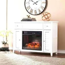 southern enterprises electric fireplace southern enterprises electric fireplace 3 in 1 infrared media console white ivory