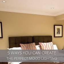 mood lighting living room. 5 Ways You Can Create The Perfect Mood Lighting - FAQs Downlights Direct Advice Living Room