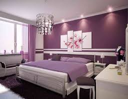 Small Purple Bedroom Bedroom Purple And Gray Wall Paint Color Combination Diy Country