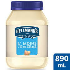 Hellmans Light Mayo Barcode Hellmanns 1 2 The Fat Mayonnaise Dressing