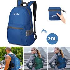20L <b>Foldable</b> Waterproof Travel Backpack <b>Laptop Multifunction</b> ...