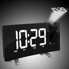 led display digital projection alarm