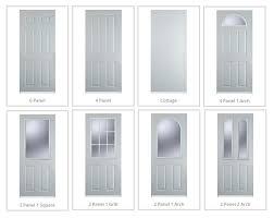 external door frame colour