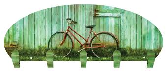 5 Hook Coat Rack Next Innovations Rustic Bike 100 Hook Coat Rack Reviews Wayfair 77