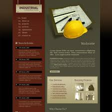 Construction Website Templates Awesome Construction Web Template 28 Stylishtemplate