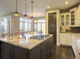 White Kitchen Dark Floors Black Kitchen Cabinets With Dark Floors Monsterlune
