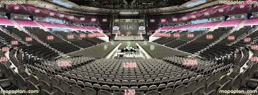 Palace Of Auburn Hills View From Section 120 Row E