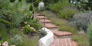 brick steps garden steps maureen gilmer morongo valley ca