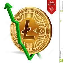 Litecoin Growth Chart Litecoin Growth Green Arrow Up Litecoin Index Rating Go
