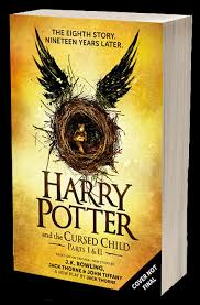 harry potter and the cursed child will be published as an eighth harry