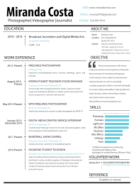 beautiful resume for videographer images simple resume office