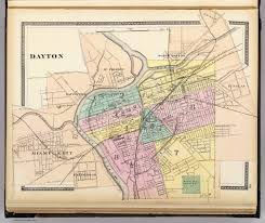 dayton david rumsey historical map collection Dayton Map Dayton Map #30 dayton mapquest