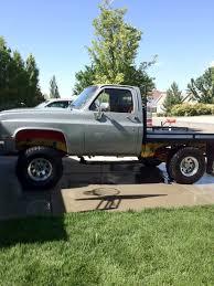 1986 Chevy K10 Flatbed. My first truck! : Trucks