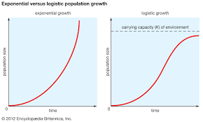 Rabbit Growth Rate Chart Population Ecology Logistic Population Growth Britannica
