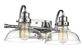 Millennium Restoration 2 Light Bathroom Vanity Light In Chrome Polish Nickel Finish Lightsonline Com