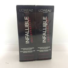 details about 2pcs l oreal infallible pro spray set makeup extender 2x30ml 1oz new in box