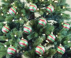Amazon.com: Festive Season Vintage Style Christmas Tree Ornament Balls (Set  of 12, 60mm): Home & Kitchen