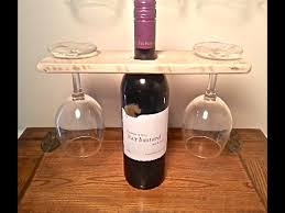 wood pallet wine bottle and glass display holder pallet projects you