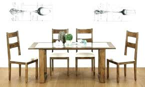 6 seat kitchen table for wonderful dining glass top round full size
