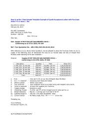 Sample Price Quotation Letter Format Valid Free Request For Quote