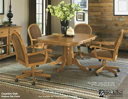 Fresh Kitchen Chairs With Casters Swivel Interior