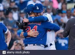 Der Los Angeles Dodgers Center Fielder ...