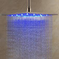 bee lee contemporary 12 inch stainless steel led rain shower head review you
