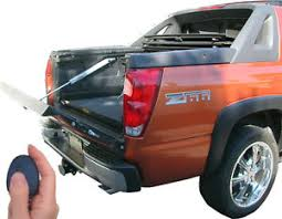 Power pickup truck tailgate lift assist & Lock Chevy Avalanche ...