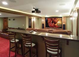 Basement Home Theater Bar R On Decorating