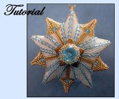 Beaded Christmas Ornaments Patterns New Beaded Christmas Star Ornament Pattern BeadPatterns Beaded
