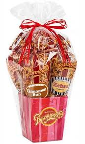 valentine s 5 cone gift basket special tastes for that special someone your love best popcornpopcorn