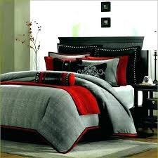 red and black crib bedding sets gray best grey comforter ideas on set home design remodeling