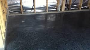 dark polished concrete floor. Brilliant Concrete Black Polished Concrete Intended Dark Floor YouTube
