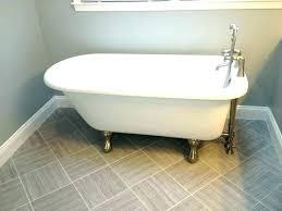 4 foot bathtub cast iron size of claw feet antique ft canada