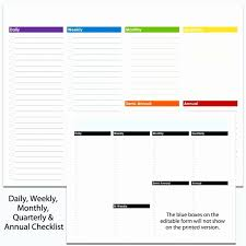 Things To Do Lists Template Inspirational Printable Checklist
